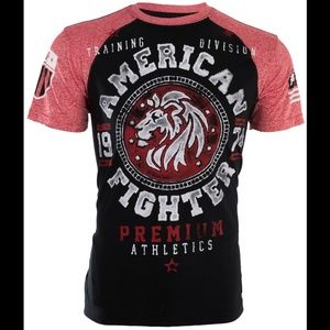 New! Men's American Fighter Shirt Size L